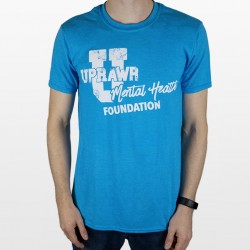 UPRAWR mental Health Foundation logo t-shirt